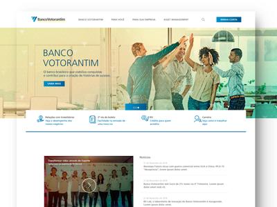 Banco Votorantim - UI Bank Website