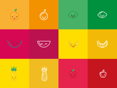 Icons - Fruits