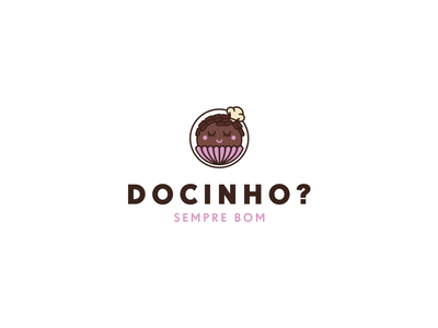 Docinho - Sweet logotype candy swet illustration branding logo design logotype logo design