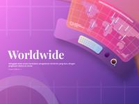 Worldwide Landing Page