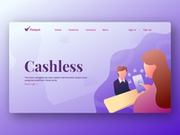 Fintech (Landing Page)