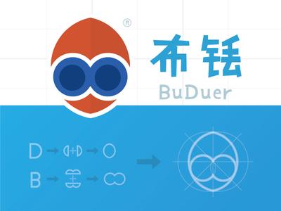 Bd logo for a robot company