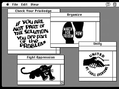 Blackout Tuesday blackout tuesday black lives matter illustration graphic design design art
