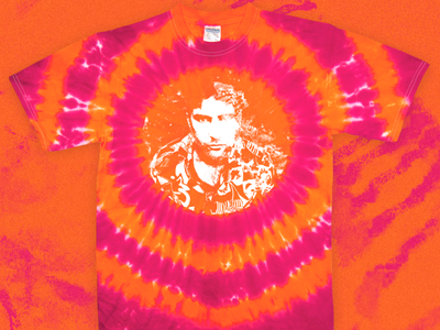 Sufjan Stevens Convocations Tie-Dye tie dye shirts tie dye band tees music bands sufjan stevens sufjan merch visual design graphic design design art