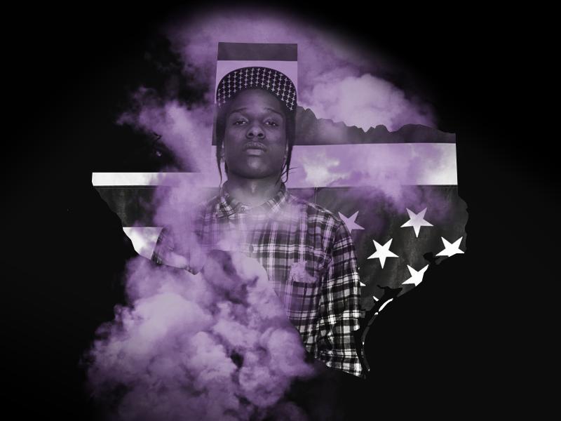 TexA$AP Rocky hip hop rap state of rap a$ap asap rocky purple