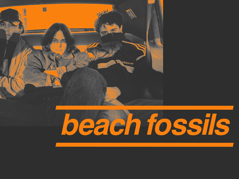 Beach Fossils Asia Tour 2018 music bands gig posters posters helvetica typography graphic design design art