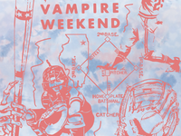 Vampire Weekend & Richard Pictures