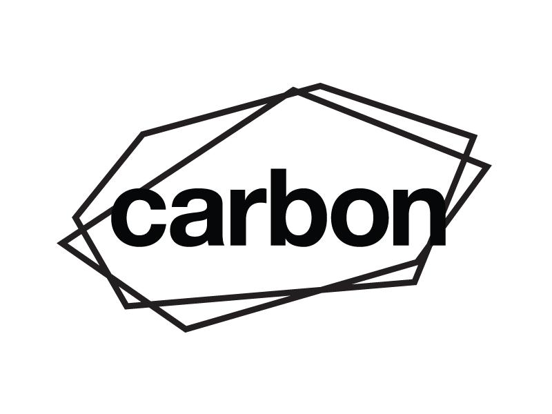 Carbon Logo art design software logos branding identity carbon