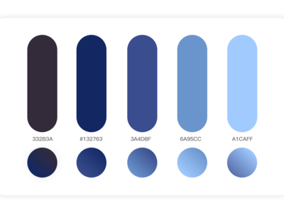 04    Color matching matching gradient color design ui