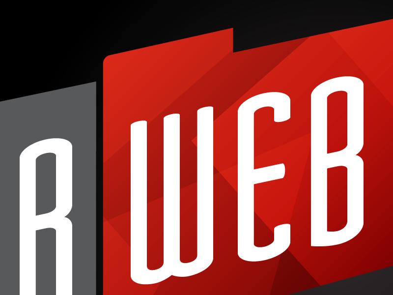 Logo Peek logo polygon web design