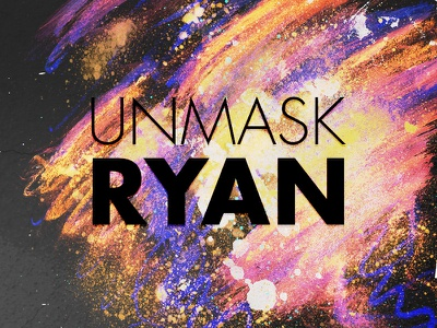 unmask RYAN concept paint spray paint grunge