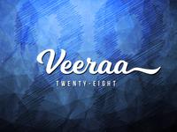 Veeraa28 Logo