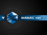 Barbaric Ham Twitch Brand