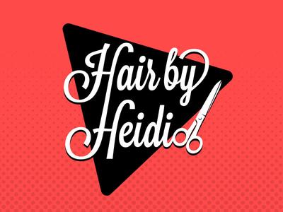 Hair By Heidi Logo Option