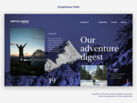 Adventures camp Page