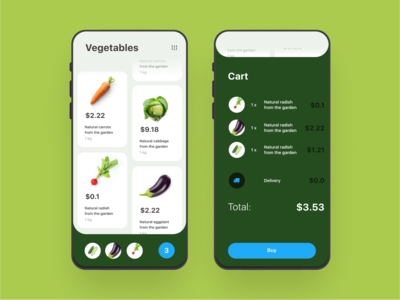 Vegetable shop concept app mobile app design mobile ui  ux userinterface ui designer vegetable app illustration ui ios mobile app uidesign ui app mobile ui ui design