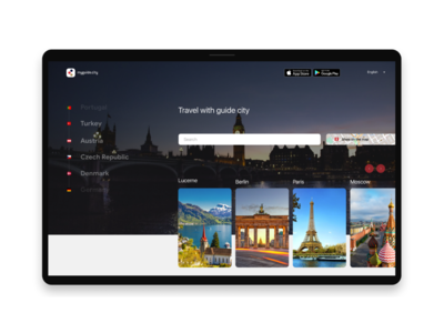 Travel web app travel agency design website website design webdesign userinterface ui uidesign ux-ui travel app