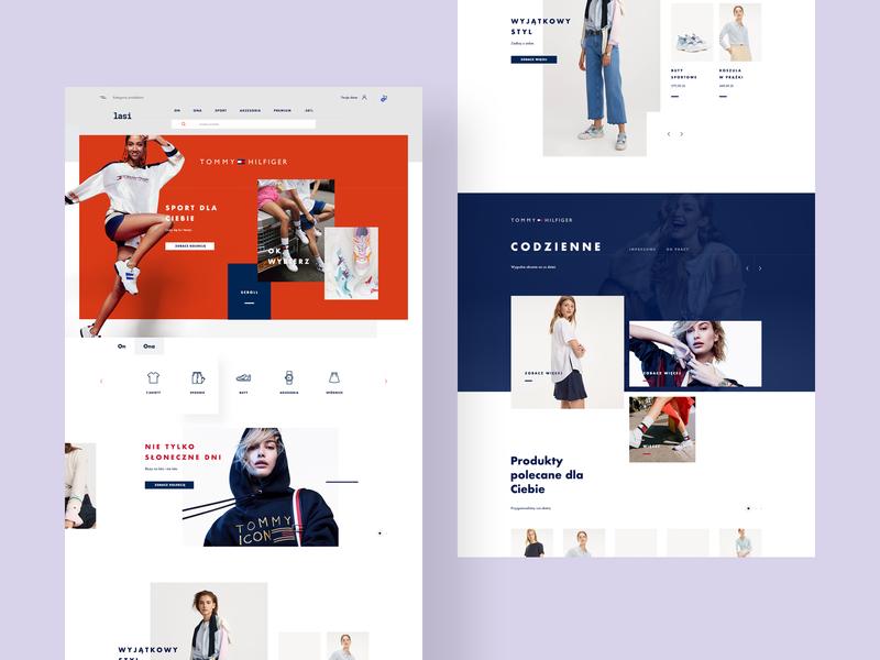 Clothing store jakubowski minimalist debut shot debuts ecommerce webdesign web ux ui style store shop fashion concept clothing buy