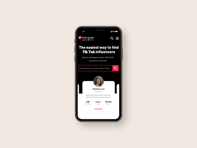 Platform For Tiktok Influencers By Adnan Lacevic On Dribbble