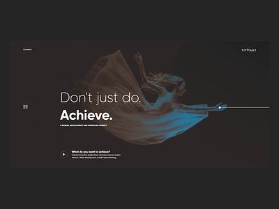 Digital Agency - 1minus1 digital agency typography ux ui web animation branding design website awwwards agency website agency