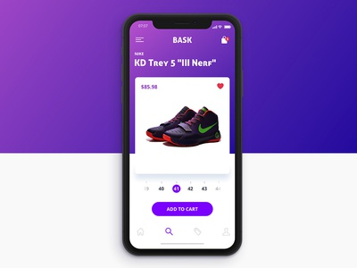 iPhone X Store purple shoes nike shop x iphone