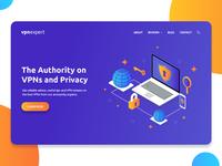 Landing Page - VPN Expert