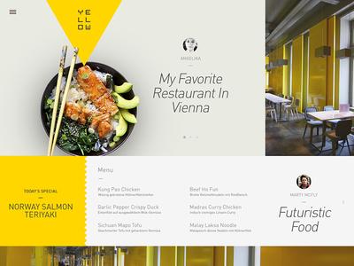Yellow Restaurant Website