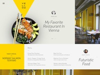 Yellow Restaurant Website