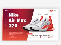 Nike Air Max 270 Product page
