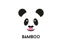 03/50 Panda Logo Bamboo