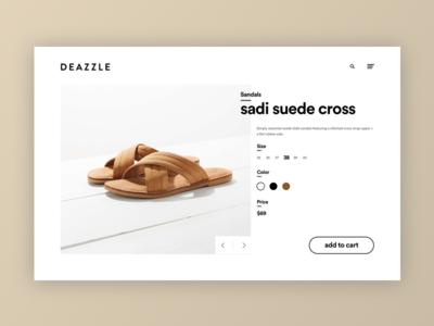 Deazzle Shoe - Product Details