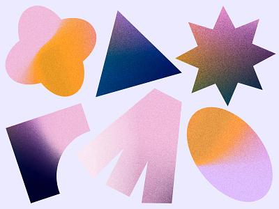UENA Diversity Shapes blm diversity yellow pink shapes gradient colors colours