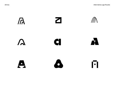 Atmos Logo Routes iconset tech abstract app icons pack icons logo
