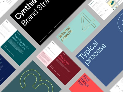 Cynthia Ghernati Brand Strategy Portfolio editorial type strategy brand design typography
