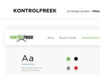 Kontrol Design System