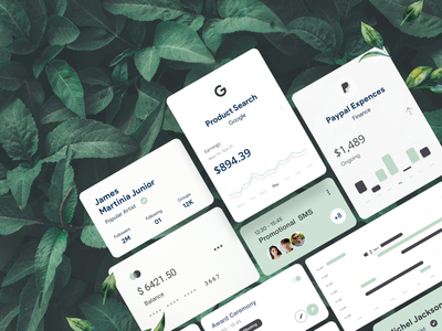 Card Freebie (XD) download freebie xd light theme green card dashboard element dashboard creditcard profile card ui product design branding typography analytics white design ui-ux clean ux ui