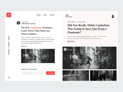 White UI / Blog / News