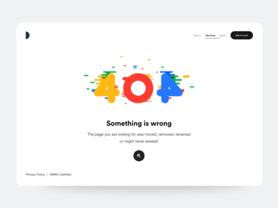 402+2 clean ui landing page website typogaphy abstract color ui color white space ui  ux 404 error 404 page 404 user experience user interface ux design white clean uiux ui
