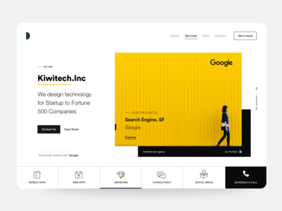 Website Header hero banner hero image black  white black card ui website design website concept website landing design landing page design user interface landing page user experience typography white product design ui-ux clean ux ui