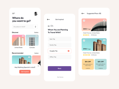 Travel App_UI hotel booking hotel app travel app design hotel traveling travel website app ui mobile ui mobile app booking app travel app ui travel app user interface typography user experience product design ui-ux clean ux ui