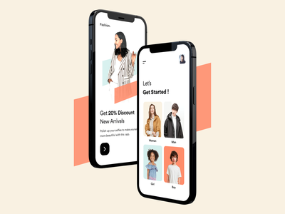 Mobile App UI ios application onboarding filter clean design typography user experience product design ui-ux ux ui shopping mobile app ecommerce card ui app ui app