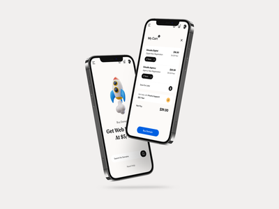 Responsive Web design mobile ui app ui product detail cart search clean typography user experience product design ui-ux ux ui buy now add to cart hosting domain mobile view website responsive
