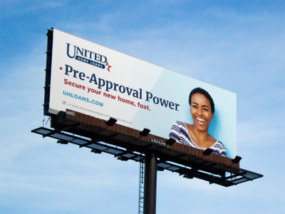 United Home Loans :: Billboard