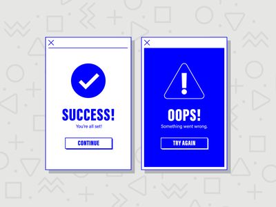 Flash Message success error flash message daily ui 011 app product design daily ui challenge daily ui ui