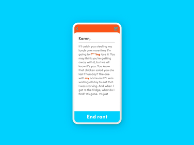 Pop-Up/Overlay :: Vent daily ui 016 adobe xd adobexd journal confirmation overlays pop up popup design prototype dailyui app product design daily ui challenge daily ui ui