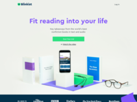 Blinkist Homepage