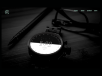 Android Watch Landing Page