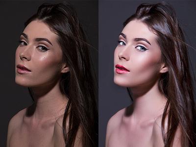 Photoshop Retouching skin enhancement color correction digital art photoshop retouching editing