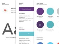 iOS App Design Styleguide
