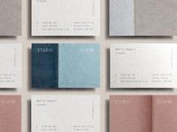 Studio Denim Interiors Business Cards